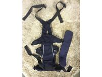 Mothercare Baby Carrier Suitable from birth to 12kg Black colour comfy child kid