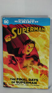 SKITCH'S STUFF: The Final Days of Superman Hardcover $25 Comic