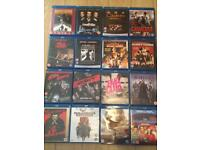 Blu ray collection (16 x high definition blu rays)
