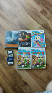 Nintendo Wii and GBA games