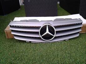 Mercedes SL front grille 2002 2006