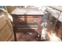 Vintage 1930s Glevum Economy Wooden Paraffin incubator cabinet