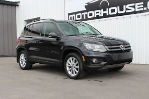 2013 Volkswagen Tiguan 2.0 TSI Comfortline LEATHER! PANORAMIC...