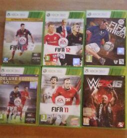 xbox 360 - Sports games bundle
