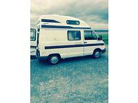 Renault trafic factory 4 birth campervan