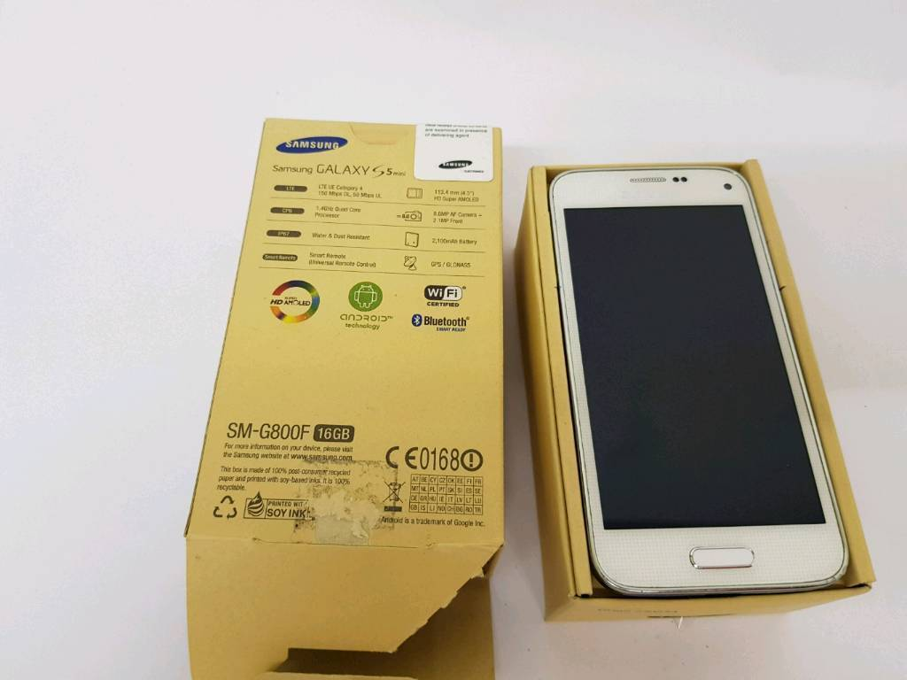 Samsung s5 mini unlocked in great conditionin AberdeenGumtree - Samsung s5 mini in grate condition as on pictures with original box, charger. Selling due to the upgrade