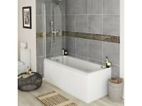 *BRAND NEW* Bathtub + Shower Screen - VICTORIAN PLUMBING