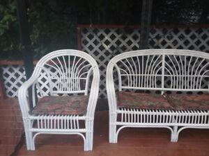Set de fauteuil extérieur