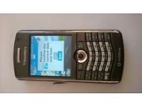 Blackberry 8110 Pearl, Perfect working condition, Cosmetic Scratches