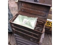 Small Metal Storage Tin