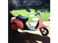 Pink Razor Battery kids Scooter bike Faulty