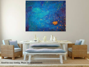 """48""""x36"""" Original Painting – NEW & Highly Textured"""