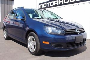 2012 Volkswagen Golf Wagon!
