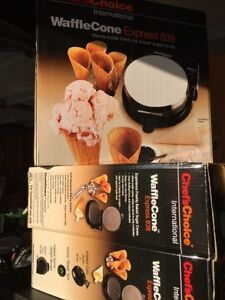 3 new Waffle Cone Makers - Great for gifts!