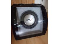 10 inch car subwoofer / speaker and box
