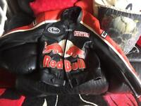 Genuin red bull bike jacket