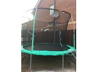 10ft Jumpking trampoline - with brand new net enclosure worth £40