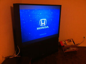 "Hitachi 60"" Ultra Vision Projection TV"