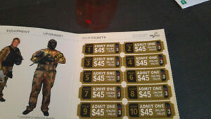 Paintball Tickets