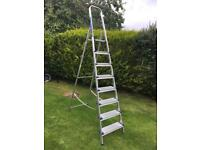 Very large step ladder