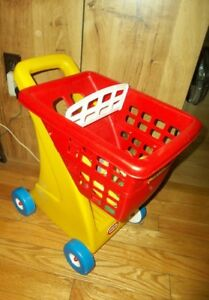 Little Tikes Tykes Grocery Shopping Cart w/ Playfood