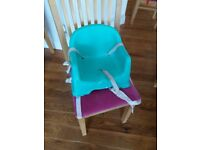 Mother care booster seat
