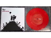 "BLUR - GOOD SONG **Very Rare UK 7"" Red Vinyl Single 2003 R6619** BANKSY GORILLAZ"