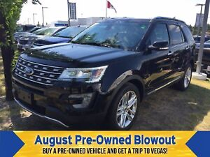 2017 Ford Explorer Limited Nav. Moonroof. Trailer Tow.