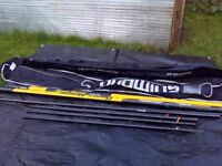 Shimano beast master pole 8.5m with 10.5 m extension