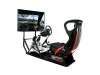 logitech g920 wheel with full next level racing rig