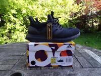 Adidas Ultra Boost Triple Black UK 8