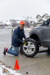 Get your brakes changed on your driveway by a specialist!