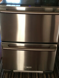 Electrolux 24 Inch Built-in 2 Drawer Refrigerator