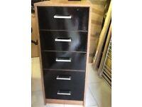 2 x drawer units