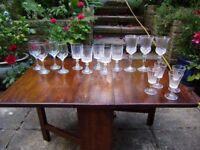 Wine glasses, great condition