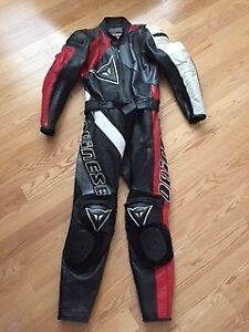 Dainese, 2 piece leather suit