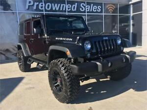 2016 JEEP RUBICON UNLIMITED LIFTED  BEAUTIFUL ONE OWNER