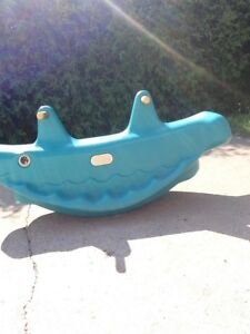 Little tykes tether totter