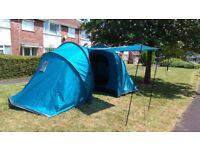 Highlander Cypress 4 - 4 Person, 2 Bedroom Vis a Vis Festival Tent