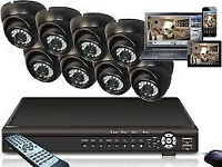 full kit wire hdmi cctv cameras systm