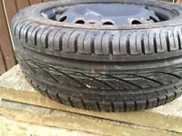 Brand new Tyre with Wheel