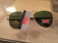 Brand new Ray-Ban sunglasses for sale