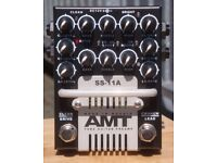 """AMT SS-11A """"Classic"""" 3-Channel Tube Preamp Pedal"""