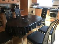 DINING SET FOR SALE - EXTENDABLE TABLE