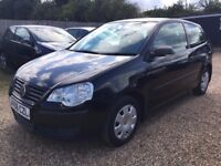 VOLKSWAGEN POLO 1.2 E 3DR 2006* IDEAL FIRST CAR*CHEAP INSURANCE*EXCELLENT CONDITION*FULL SERVICE HIS
