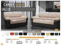 Candy sofa in two colors jUmc