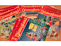 COMICS: Early 1970's 'DISNEYLAND' vintage magazines (all very very early editions) £10each