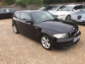 2008 BMW 1 SERIES 2.0 DIESEL 6 SPEED MOT JAN 18