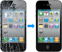 Iphone screen repair service 80$ - Reparation iphone a domicile