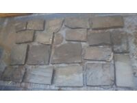 Reclaimed welsh flagstones